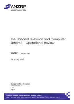 ANZRP Response to Op Review Feb 15