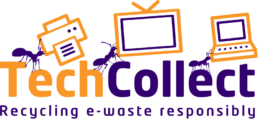 TechCollect orange and purple logo