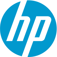 Blue HP logo