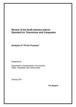 review fit purpose document
