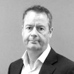 Black and white portrait of John Edgecombe