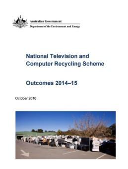 NTCRS Outcomes 2014-15 document