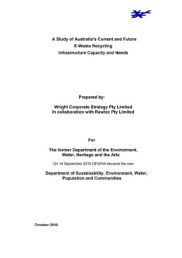 ewaste-infrastructure document