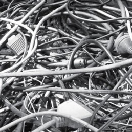 Cords and cables for recycling