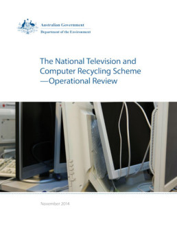 operational review national television and computer recycling scheme document