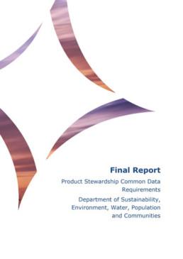 product stewardship data document